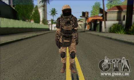 Task Force 141 (CoD: MW 2) Skin 15 pour GTA San Andreas