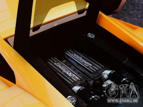 Lamborghini Gallardo LP560-4 für GTA 4 Innenansicht