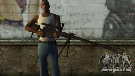 PGM Ultima Ratio Hécate II pour GTA San Andreas troisième écran