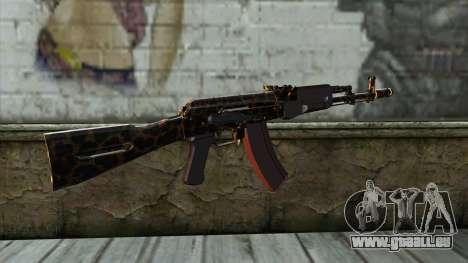 Graffiti AK47 pour GTA San Andreas deuxième écran