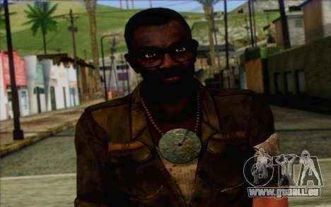 Dennis Rogers (Far Cry 3) pour GTA San Andreas troisième écran