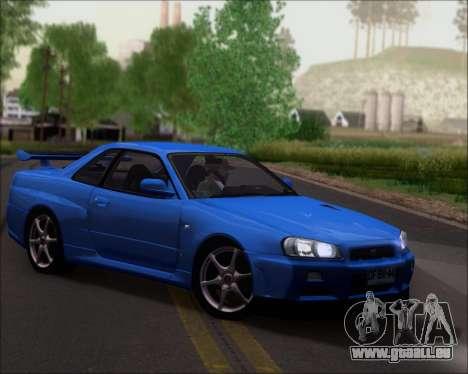 Nissan Skyline GT-R R34 V-Spec II für GTA San Andreas