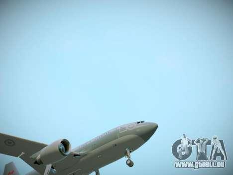 Canadian Forces Airbus CC150 Polaris pour GTA San Andreas vue de dessous