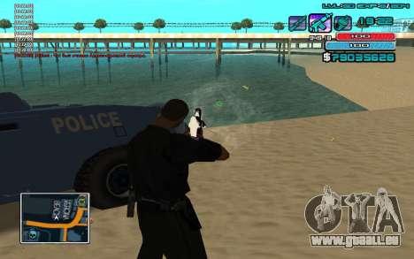 C-HUD par WH édité Mr_Zlo pour GTA San Andreas troisième écran