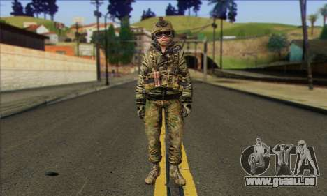 Task Force 141 (CoD: MW 2) Skin 11 pour GTA San Andreas
