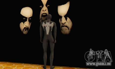 Skin The Amazing Spider Man 2 - Molecula Estable pour GTA San Andreas troisième écran