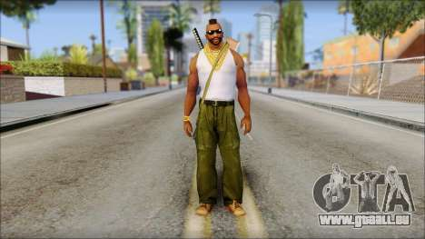 MR T Skin v10 für GTA San Andreas