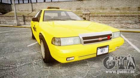 GTA V Vapid Taxi NYC für GTA 4