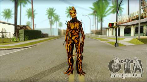 Guardians of the Galaxy Groot v2 pour GTA San Andreas