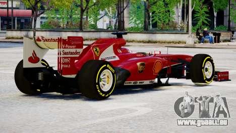 Ferrari F138 v2 für GTA 4 rechte Ansicht