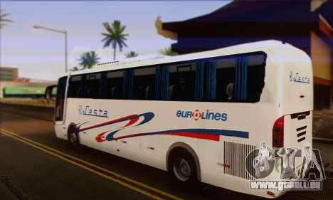 Volvo Lasta Bus pour GTA San Andreas laissé vue