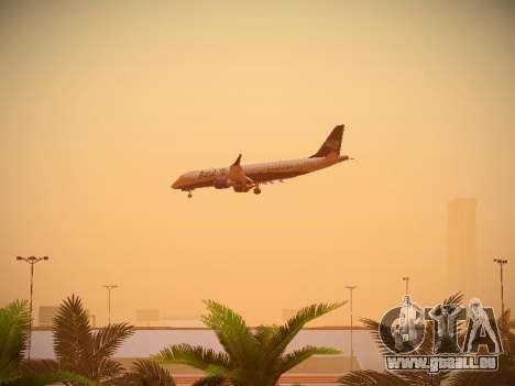 Embraer E190 Azul Brazilian Airlines pour GTA San Andreas vue intérieure