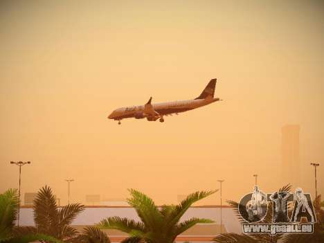 Embraer E190 Azul Brazilian Airlines für GTA San Andreas Innenansicht