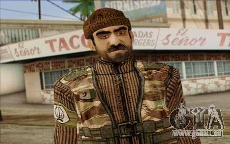 Soldaten MEK (Battlefield 2) Haut 2 für GTA San Andreas dritten Screenshot