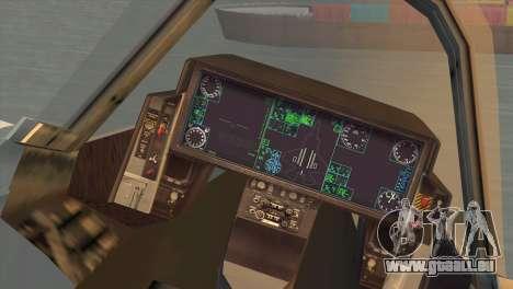Lockheed Martin F-35A pour GTA San Andreas sur la vue arrière gauche