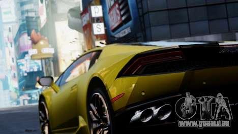 Lamborghini Huracan LP610-2 Valentino Balboni pour GTA 4 est une vue de l'intérieur