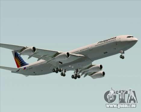 Airbus A340-313 Philippine Airlines für GTA San Andreas Innenansicht