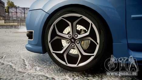 Ford Focus ST 2005 Rieger Edition pour GTA 4 Vue arrière