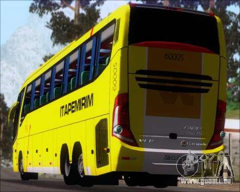 Marcopolo Paradiso 1200 G7 Viacao Itapemirim für GTA San Andreas Seitenansicht