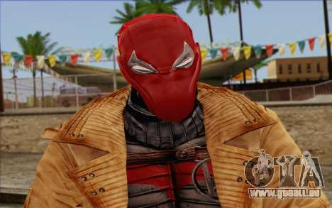 Red Hood from DC Comics für GTA San Andreas dritten Screenshot