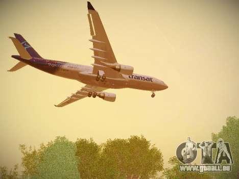 Airbus A330-200 Air Transat pour GTA San Andreas roue
