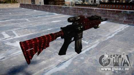 Automatische Gewehr Colt M4A1 Kunst des Krieges für GTA 4 Sekunden Bildschirm