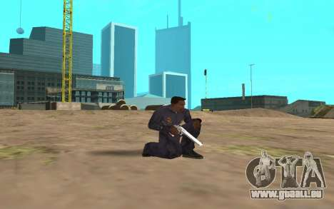 Chrome Weapon Pack by SampHack pour GTA San Andreas