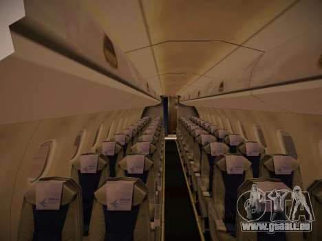 Embraer E190 Azul Brazilian Airlines für GTA San Andreas Unteransicht