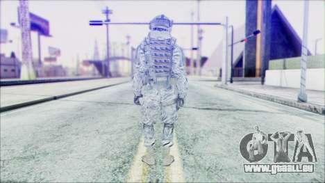 Ranger (CoD: MW2) v2 pour GTA San Andreas deuxième écran