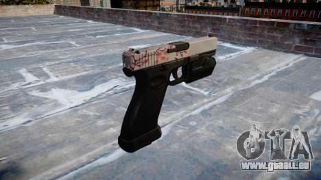 Pistole Glock 20 Kirsche blososm für GTA 4 Sekunden Bildschirm