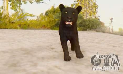 Black Panther (Mammal) für GTA San Andreas dritten Screenshot