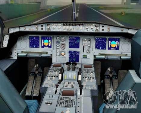 Airbus A330-300 Etihad Airways pour GTA San Andreas salon