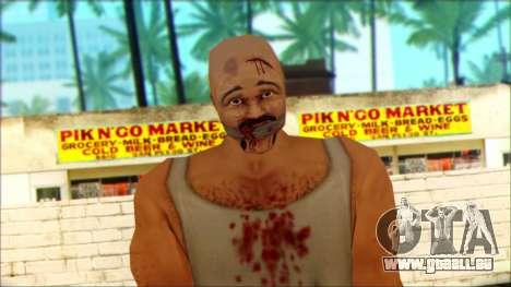 Manhunt Ped 8 pour GTA San Andreas troisième écran