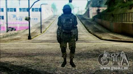 Soldaten airborne (CoD: MW2) v3 für GTA San Andreas