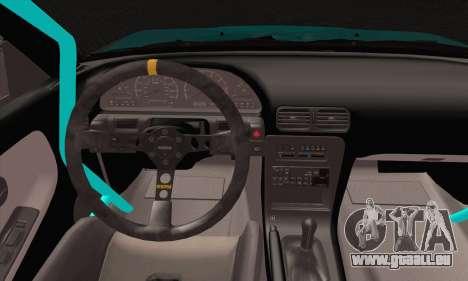 Nissan 240SX Drift Monster Energy pour GTA San Andreas sur la vue arrière gauche