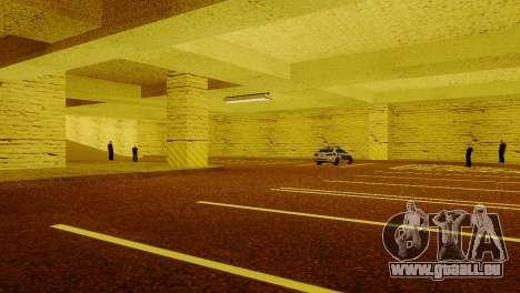 De nouvelles textures Parking dans la LSPD pour GTA San Andreas cinquième écran