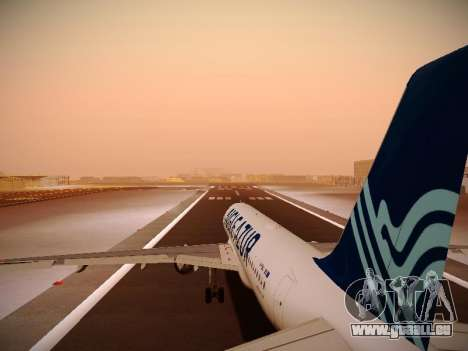 Airbus A320-211 Aigle Azur für GTA San Andreas Motor