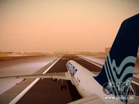 Airbus A320-211 Aigle Azur pour GTA San Andreas moteur