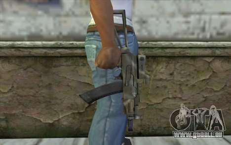 AK74U from Battlefield 2 für GTA San Andreas dritten Screenshot