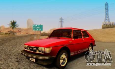 Saab 99 Turbo 1978 für GTA San Andreas