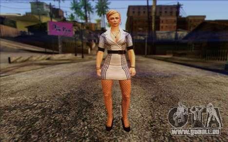 Tracy from Batman Arkham Origins pour GTA San Andreas