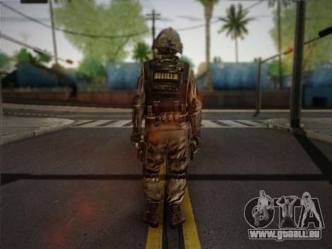 Боец СВР (Tom Clancy ' Splinter Cell) v1 für GTA San Andreas zweiten Screenshot