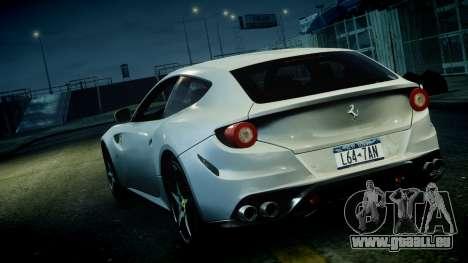 Ferrari FF 2011 v1.5 pour GTA 4 est une vue de l'intérieur