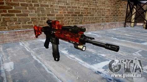 Automatische Gewehr Colt M4A1 Speck für GTA 4