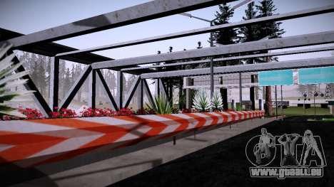 Douanes Par Makar_SmW86 pour GTA San Andreas troisième écran