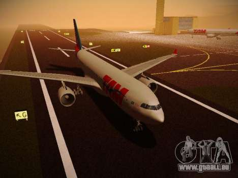 Airbus A330-200 TAM Airlines pour GTA San Andreas