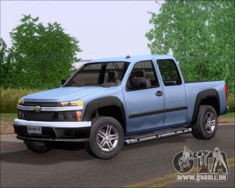 Chevrolet Colorado für GTA San Andreas