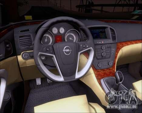 Opel Insignia OPC für GTA San Andreas Räder