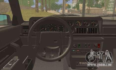 Volvo 242 Stance Works pour GTA San Andreas sur la vue arrière gauche