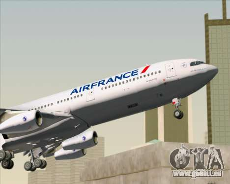 Airbus A340-313 Air France (New Livery) pour GTA San Andreas salon